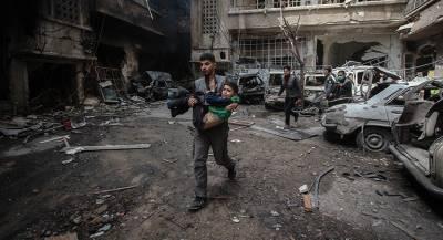 МИД Сирии назвал действия коалиции геноцидом