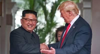 Трамп обещал встретиться с Ким Чен Ыном после выборов в США