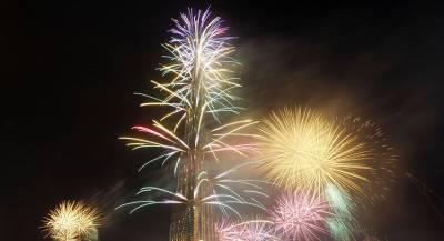 Компания Emaar вернёт фейерверк у башни Бурдж Халифа