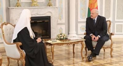 Александр Лукашенко осудил раскол православия