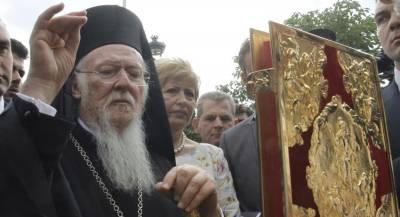 В РПЦ захотели низложить патриарха Варфоломея