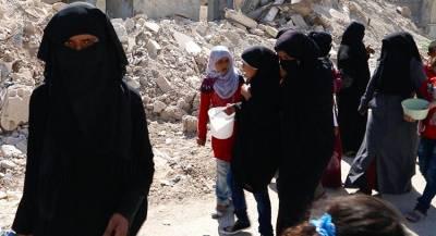 «Женскую» банду работорговцев задержали в Сирии