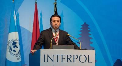 Интерпол запросил у КНР данные о пропавшем главе организации