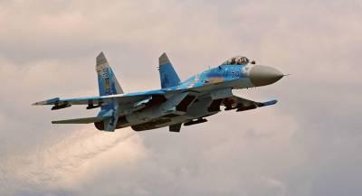 ВС Украины: разбившийся Су-27 был исправен