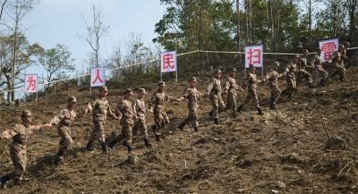 Армия КНР разминировала участок границы с Вьетнамом