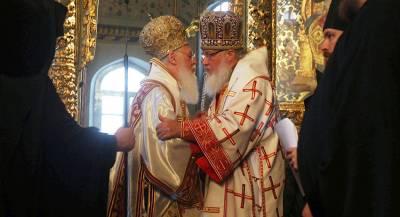 Константинополь отказался разорвать отношения с РПЦ