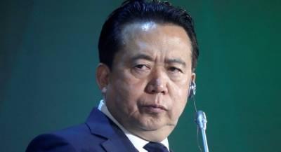 Китай подозревает экс-главу Интерпола во взяточничестве