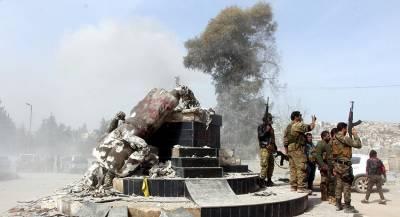 ВС Турции атаковали курдов на севере Сирии