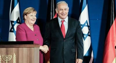 Израиль готовится к бою во время визита Меркель