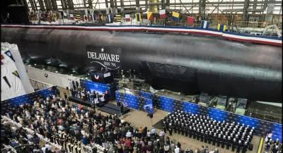 ВМС США усилились двумя ударными подлодками