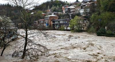 Грузинские сёла остались без света и воды из-за оползней