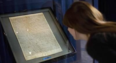 Великую хартию вольностей пытались похитить в Солсбери