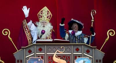 Помощник Санта-Клауса расколол общество в Нидерландах