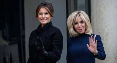 Мелания Трамп рассказала о встрече первых леди в Париже