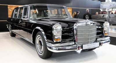 Раритетный лимузин Mercedes продадут на аукционе