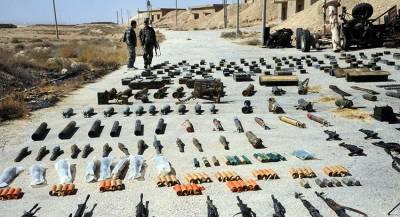 В Сирии найден крупный тайник с оружием боевиков