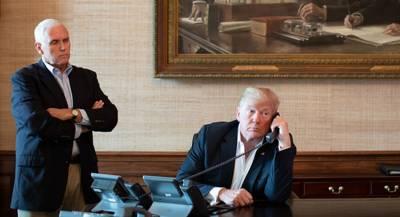 Трамп и Пенс решили идти на второй срок вместе