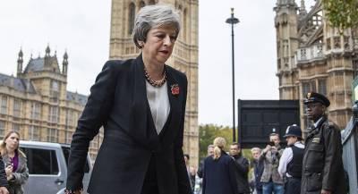 Мэй назвала черновое соглашение по Brexit близким к идеалу