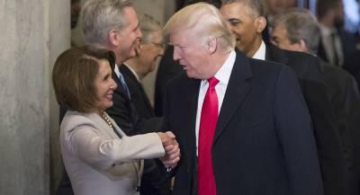 Трамп пообещал лидеру демократов помочь с голосами