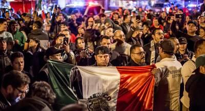 Караван мигрантов дошёл до Мексики