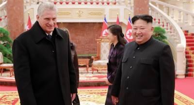 Глава Кубы завершил визит в КНДР