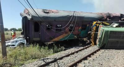 Нелегальный поезд потерпел крушение в Конго