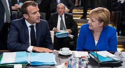 Макрон и Меркель открыли мемориал Первой мировой войны