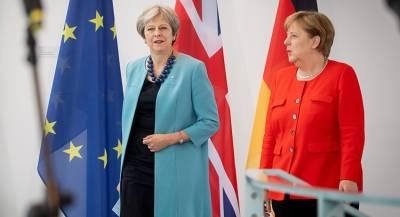 Меркель предостерегла Мэй от Brexit без сделки