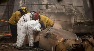 Число жертв природных пожаров в США превысило 70