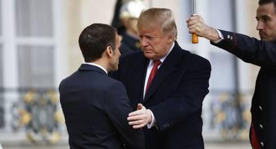 Трамп похвалил Макрона за «прекрасный» приём
