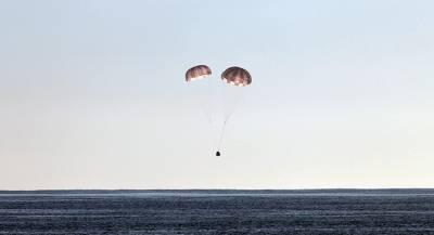 Японская капсула с МКС упала в Тихий океан