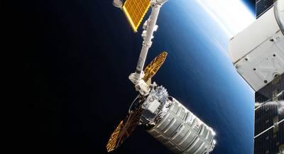 Корабль Cygnus развернул солнечные батареи в космосе