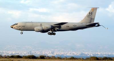 Американский самолёт-разведчик замечен у границ России