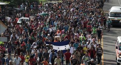 Ещё один караван мигрантов из Сальвадора отправился в США