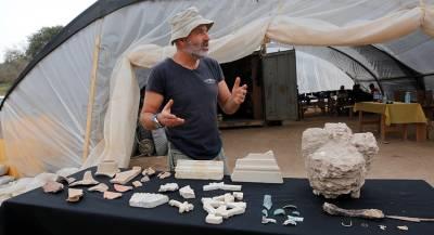 Мозаики с Ноем и Александром Македонским найдены в Израиле