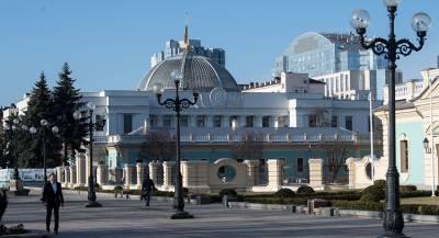 Киев потратил миллионы на ремонт купола Верховной Рады