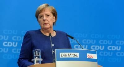 Меркель отправила германских политиков в зону ожидания