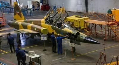 Первый иранский истребитель вышел в серийное производство
