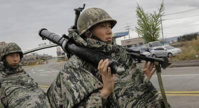 США и Южная Корея возобновили совместные учения