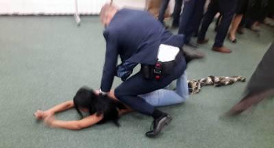 Femen задержали за эксгибиционизм в Париже