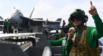 Авианосец «Гарри Трумэн» зашёл в порт Лиссабона