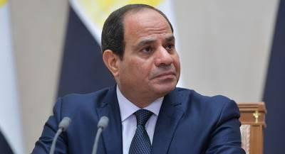 Президент Египта попросил о встрече с Медведевым