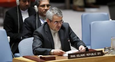 Постпред Ирана призвал ООН ответить на санкции США
