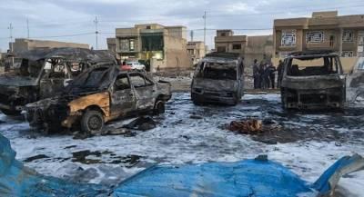 Серия терактов в Багдаде привела к жертвам