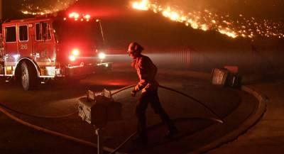 Трамп нашёл виновников лесных пожаров в Калифорнии