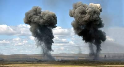 Халатность привела к взрыву на военном полигоне на Украине