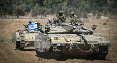 Израиль стянул значительные силы к сектору Газа
