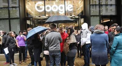 Сотрудники Google бастуют из-за домогательств