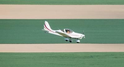 Легкий самолёт разбился в США