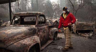 Число погибших из-за пожаров в США приблизилось к 80
